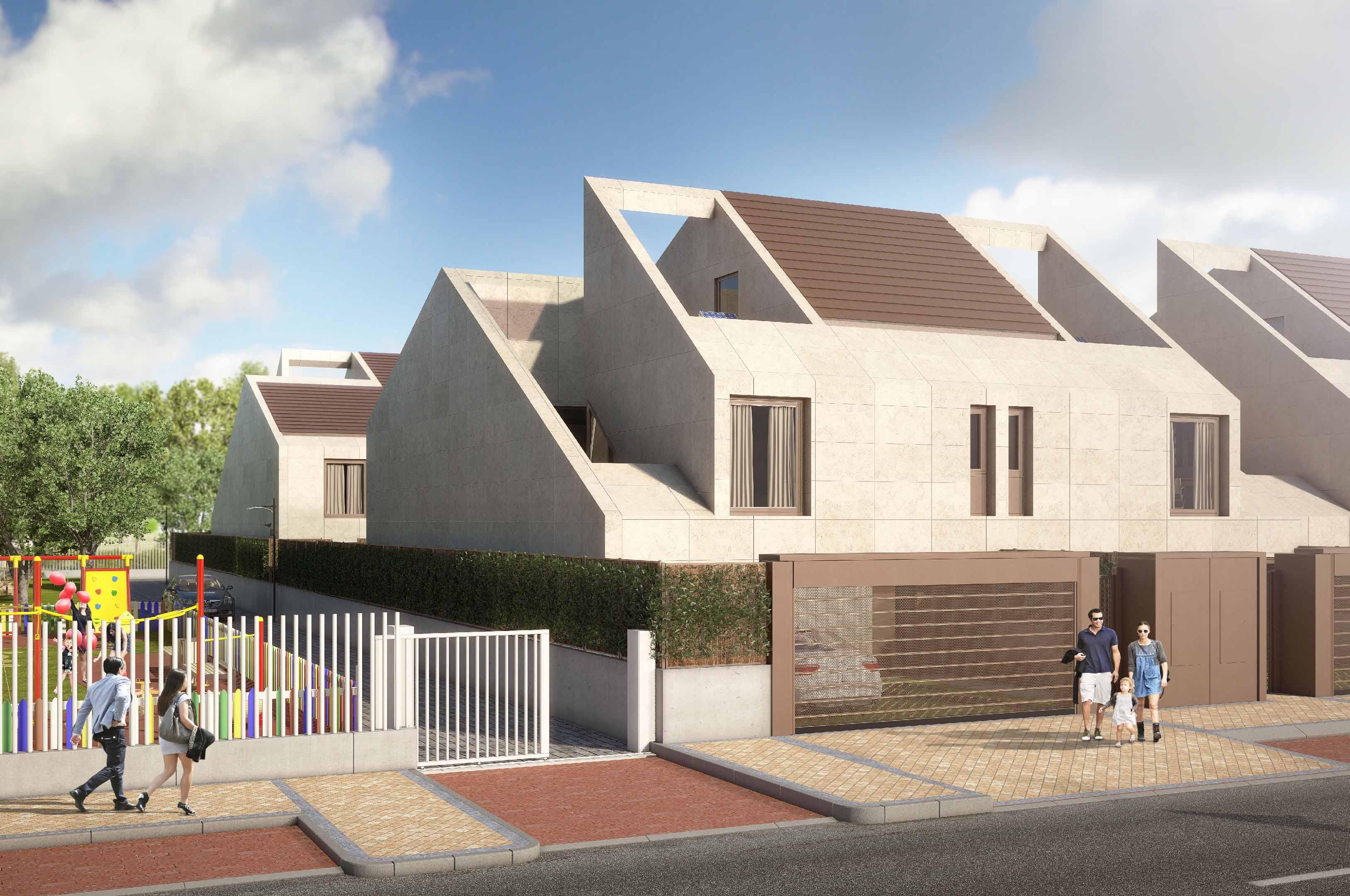 Proyectos seleccionados enves arquitectos - Proyectos casas unifamiliares ...